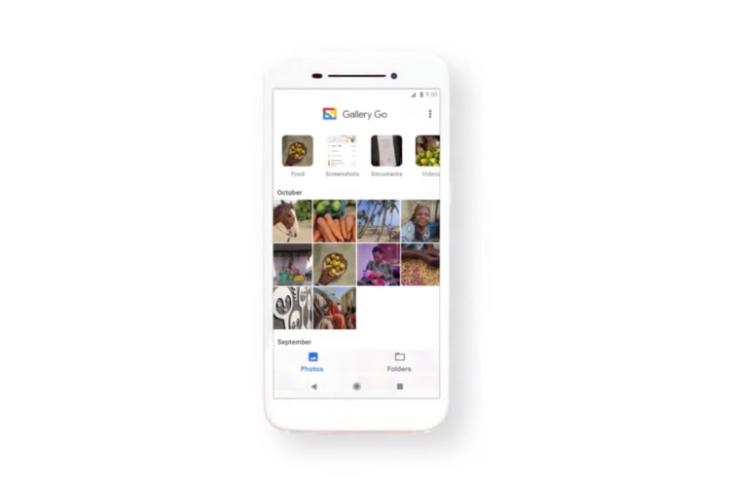 Google Gallery Go launched