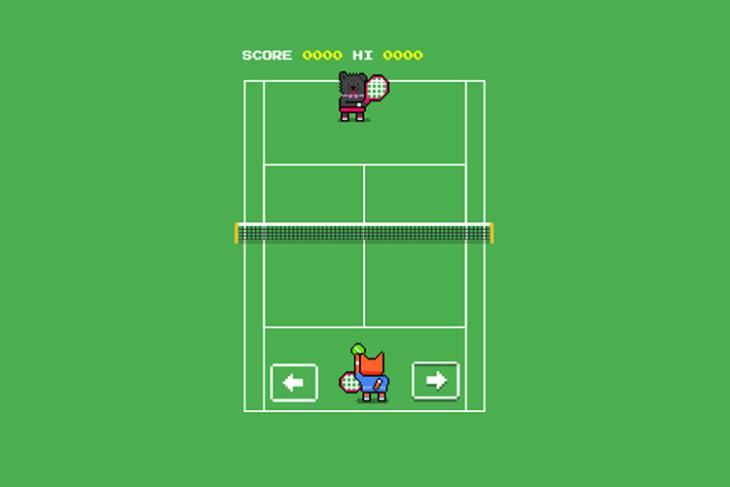 google search tennis game featured image