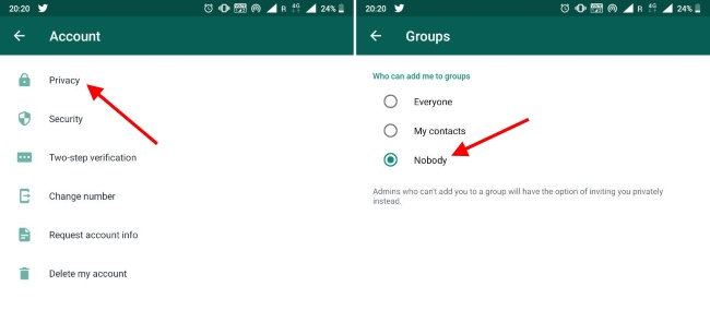 WhatsApp Finally Lets You Stop People from Adding You to Groups