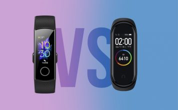 honor band 5 vs mi band 4 - quick comparison