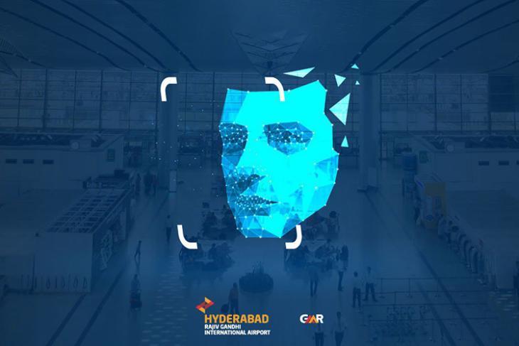hyderabad airport facial recongnition