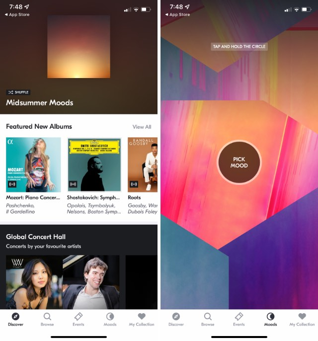 idagio free classical music streaming app