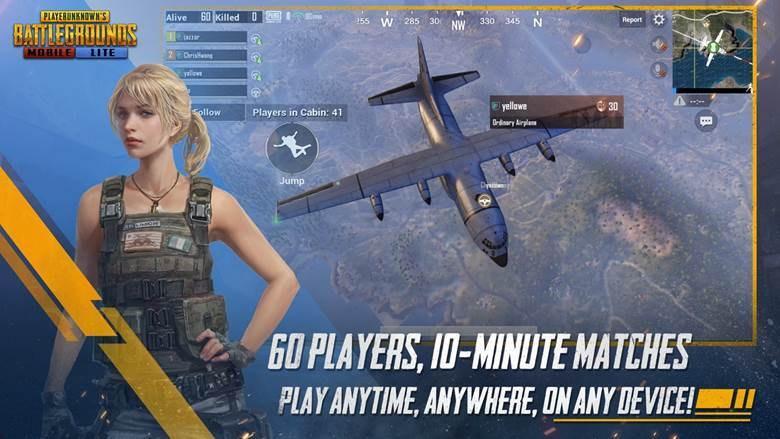 pubg mobile lite features