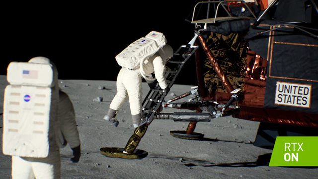 NVIDIA Recreates Apollo 11 Moon Landing with Real-time Ray Tracing