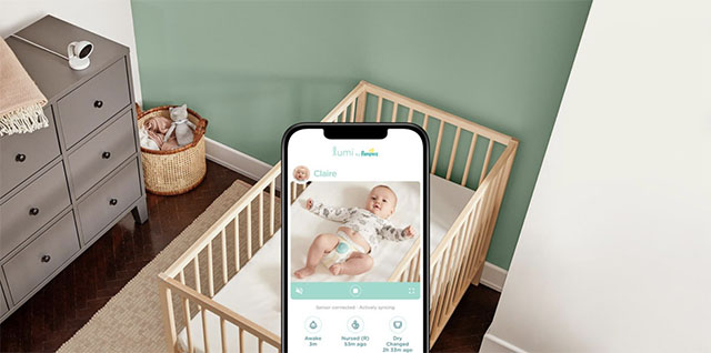 Pampers Now Has a Smart Diaper That Sends Push Notifications When Your Baby Gets Wet