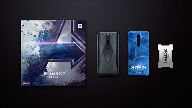 This is the Redmi K20 Pro Avengers Edition