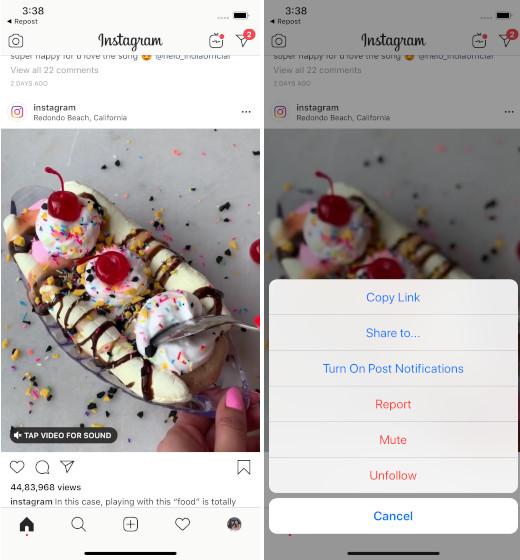 Resharing Insta stories on iOS
