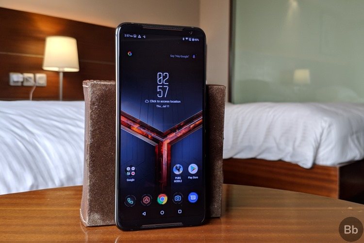 rog phone 2 front