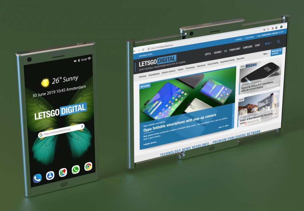 Samsung Patents a Phone That Can Be Expanded into a Tablet