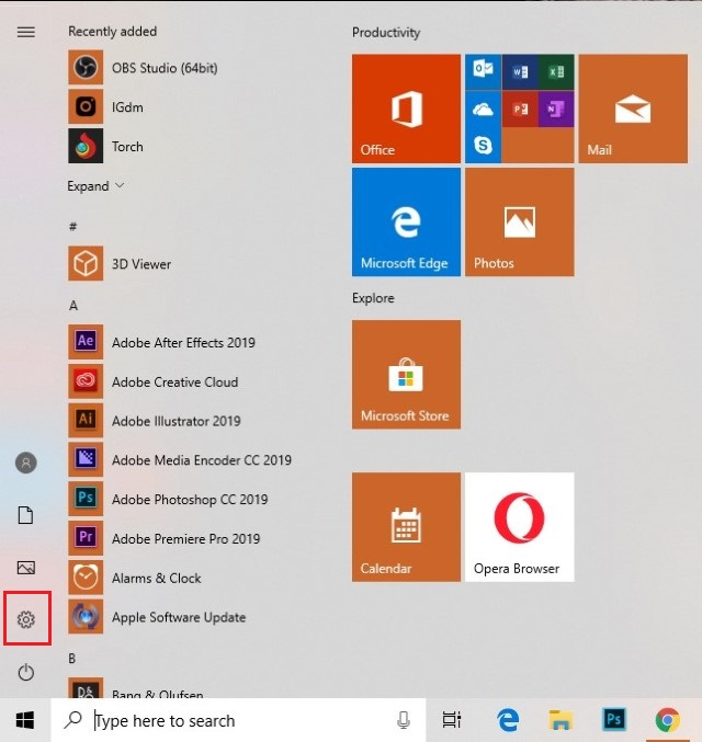 start-menu-on-WIndows-10