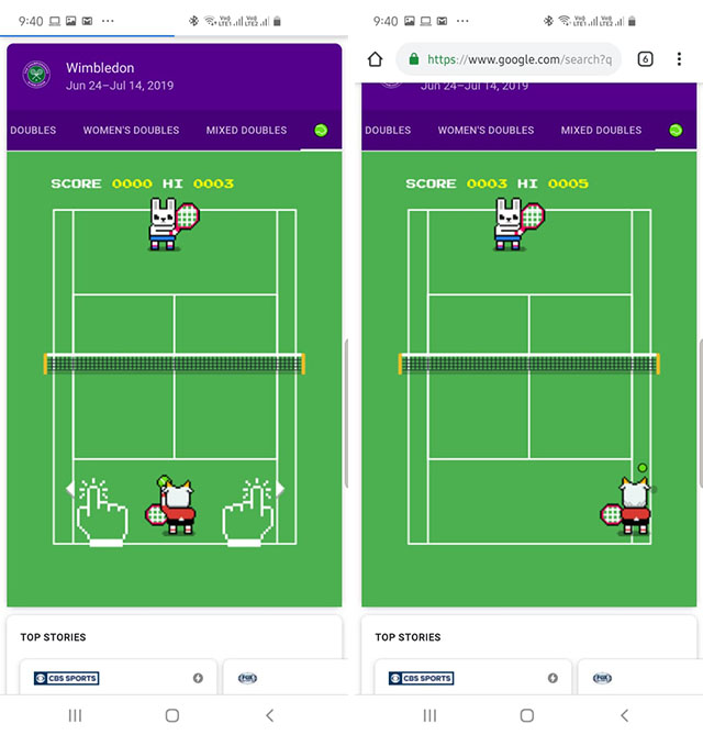How To Play The Hidden 'Tennis Game' On Google Search?