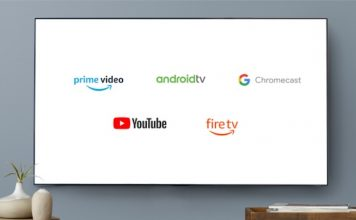 YouTube on Fire TV and Prime Video on Chromecast