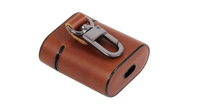 4. Burkley Protective Leather Case for AirPods 2
