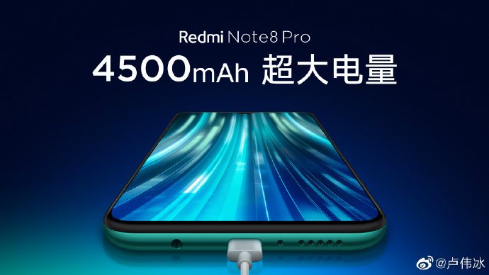 redmi note 8 pro battery size
