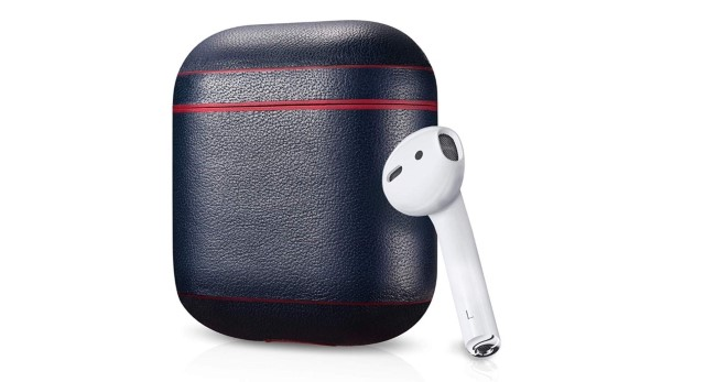 9. Leather Case for Apple AirPods by AirVinyl