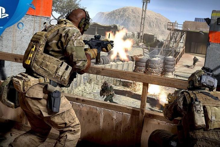 Call of Duty Modern Warfare 2019 ps4 website