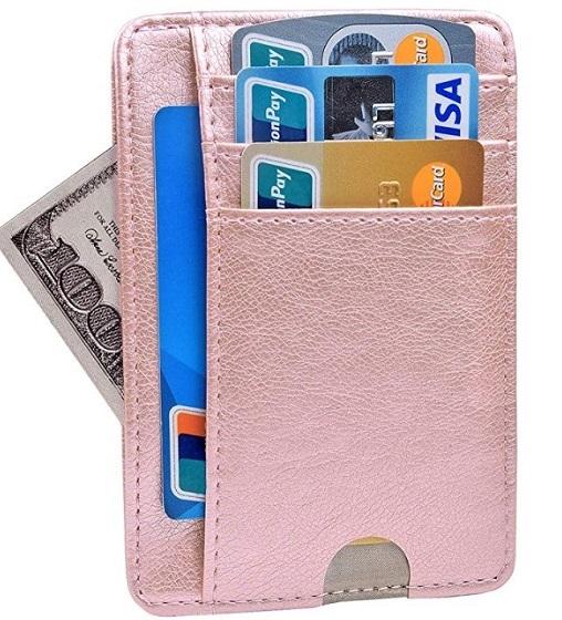 YOMFUN Apple Card holder case
