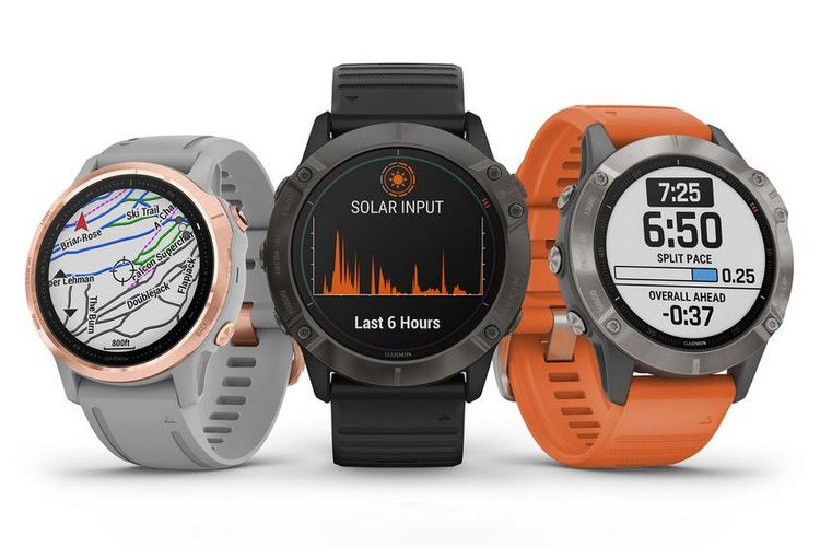 Garmin releases new Fenix 6 smartwatches, featuring solar-charging