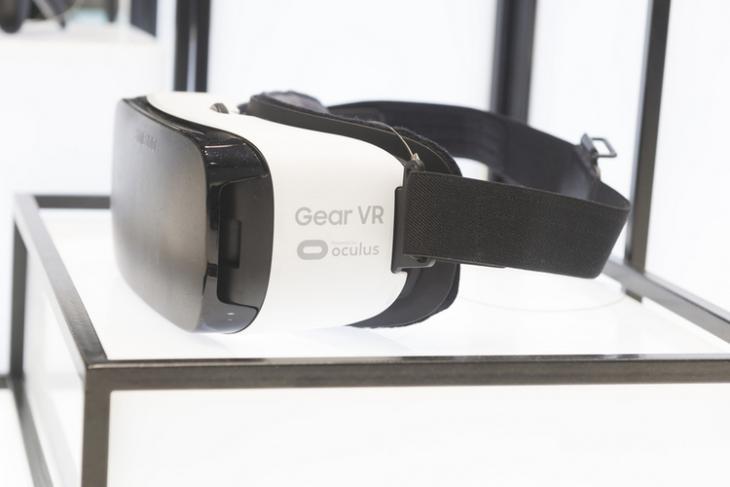 Gear VR shutterstock website