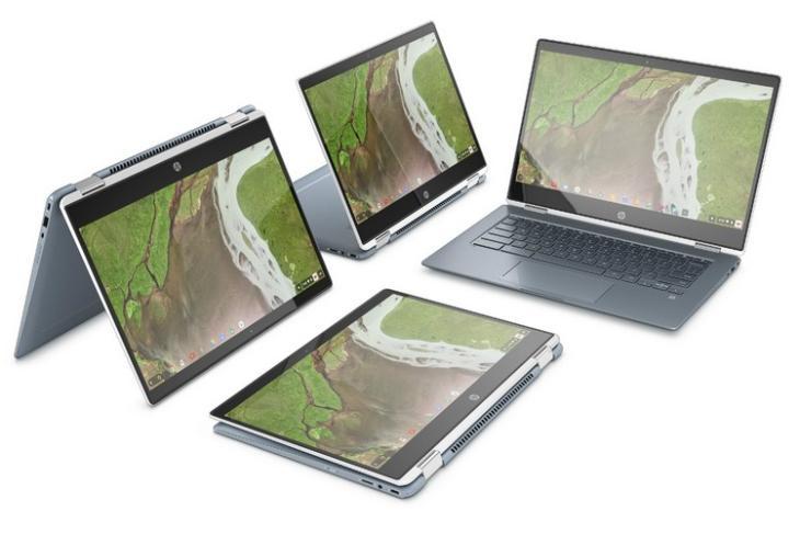 HP Chromebook x360 website
