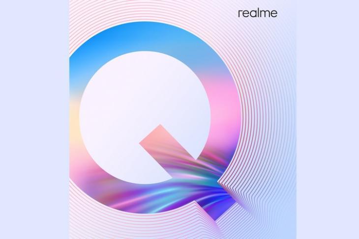 Realme Q teaser poster website
