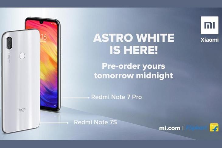 Redmi Note 7s 7 Pro Astro White website
