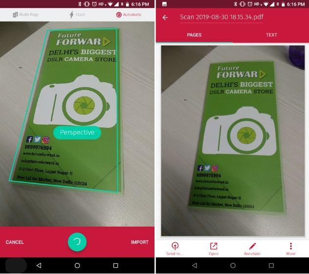 Scanbot Best Camscanner alternatives