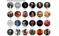 Shazam Discovery Top 50 Apl Music website