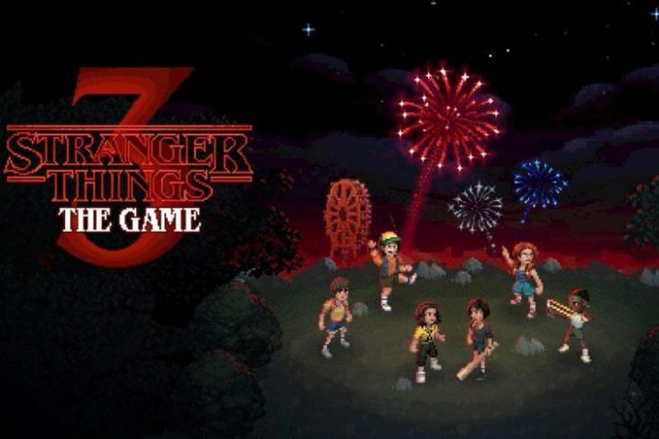 Stranger Things 3 The Game website