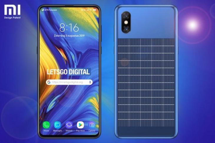 Xiaomi solar panel phone website