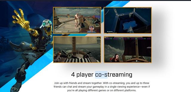 co-streaming Mixer