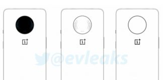 leaked oneplus phone with huge camera cutout