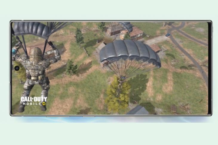 Samsung Note 10 has Call of Duty: Mobile pre-installed