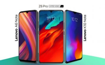 Lenovo launched Z6 Pro, K10 Note, and A6 Note in India