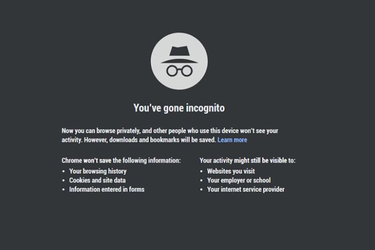 google chrome incogito mode featured