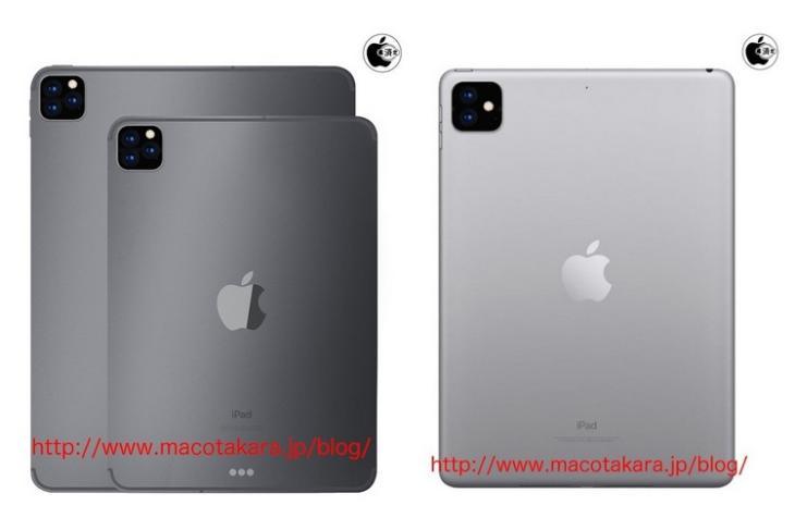 iPad Pro rumors triple cam website