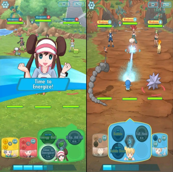 pokemon masters screenshot