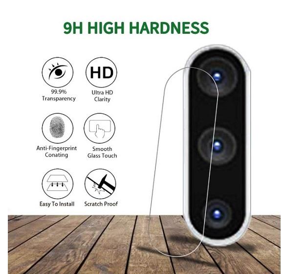 QHOHQ Galaxy Note 10 Plus Camera Lens Protector