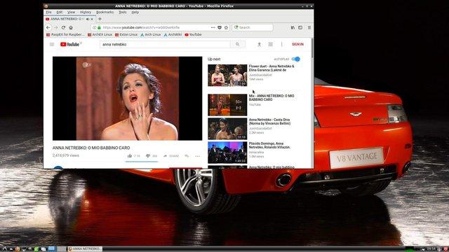 rasparch browser