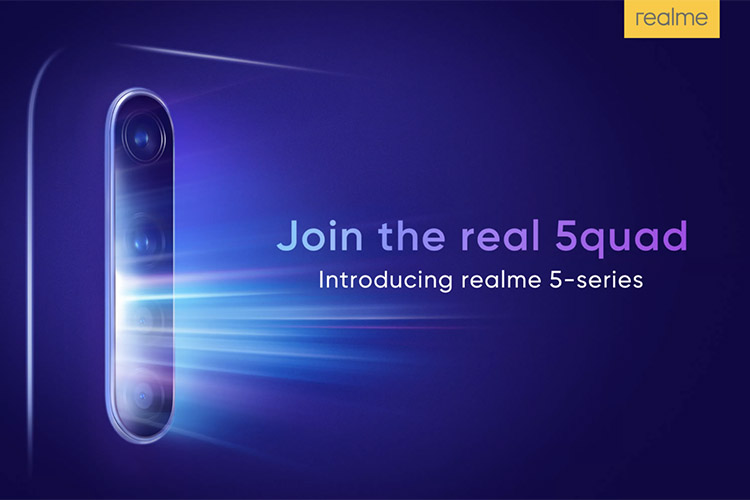 Realme 5 series arriving on August 20
