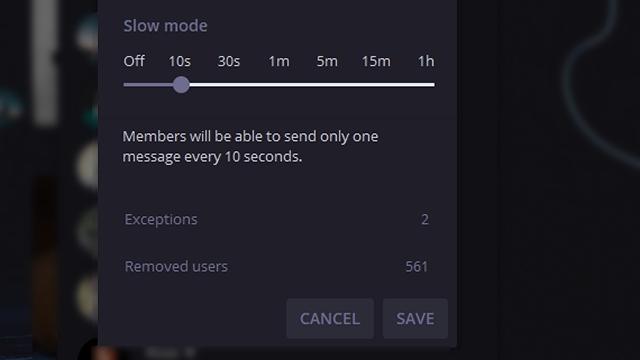 telegram slow mode