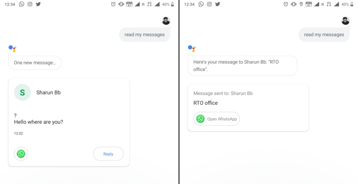 Google Assistant Can Now Read and Reply to Messages from Third-Party Apps