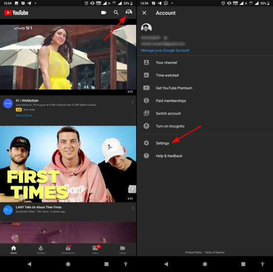 How to Disable Auto-Playing Videos on YouTube's Homescreen