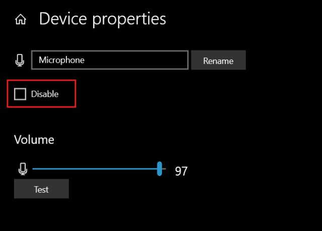 1. Manage Microphone from Windows Settings (6) Fix Microphone Issues on Windows 10
