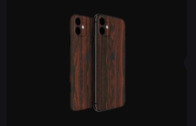 1. Signature Mahogany Wood Skin