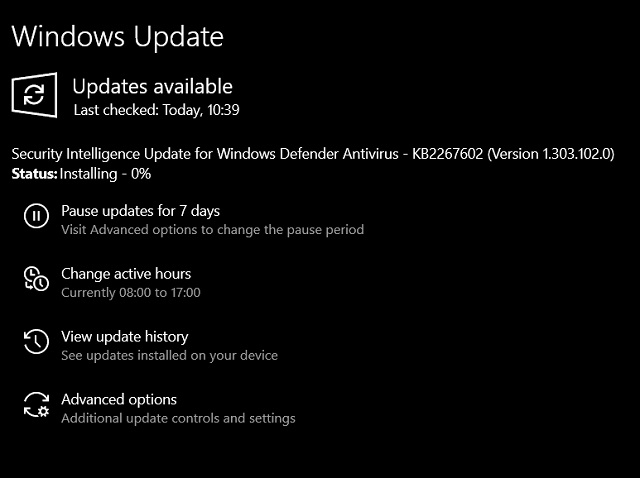 13. Update Operating System