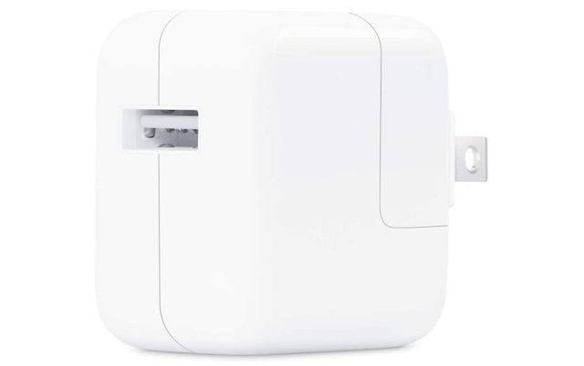 2. Apple 12W USB Power Adapter