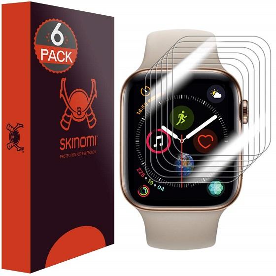 3. Skinomi TechSkin - Apple Watch Series 5 Screen Protectors
