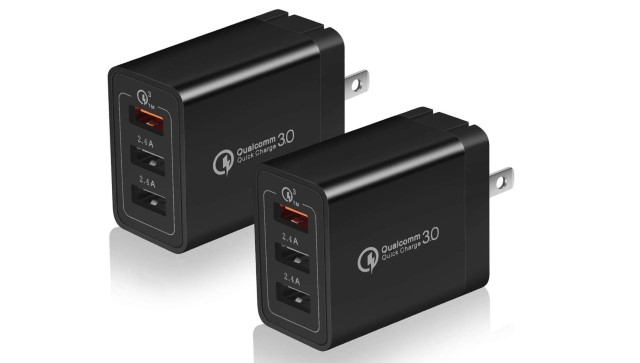 4. USINFLY 2-Pack 30W Charger