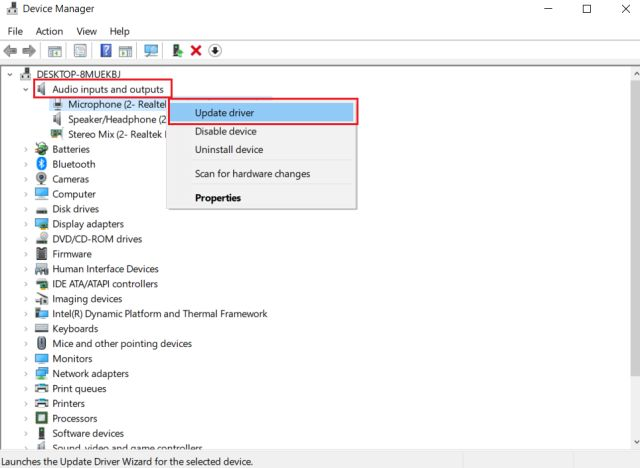 4. Update Audio Driver (2)